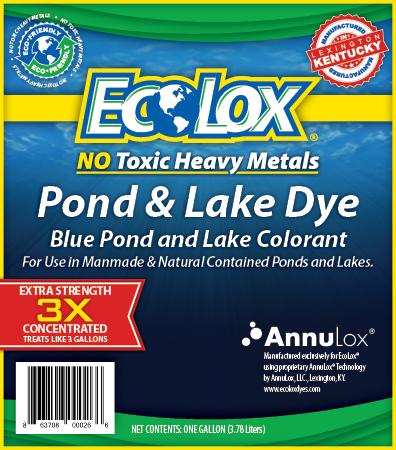 EcoLox® Dyes Label